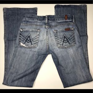 7 for all Mankind A Pocket boot cut 25